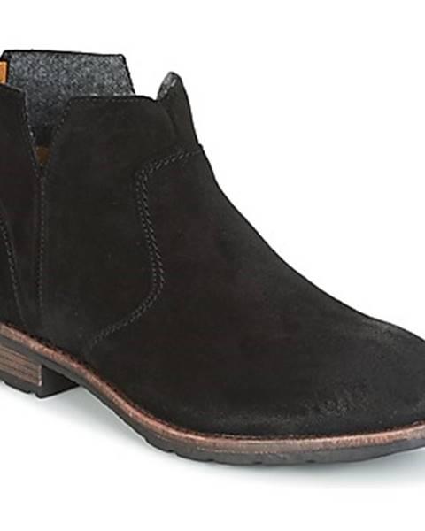 Čierne topánky Sebago