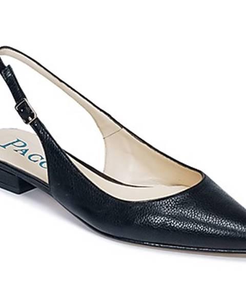 Čierne sandále Paco Gil