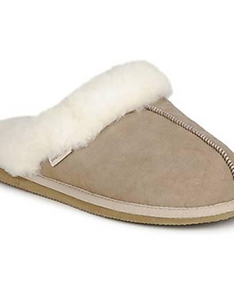Béžové papuče Shepherd