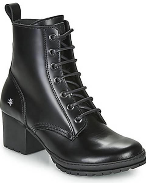 Čierne topánky Art