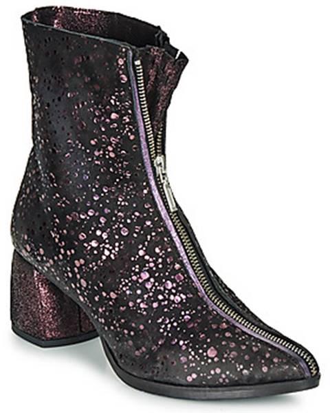 Fialové topánky Papucei