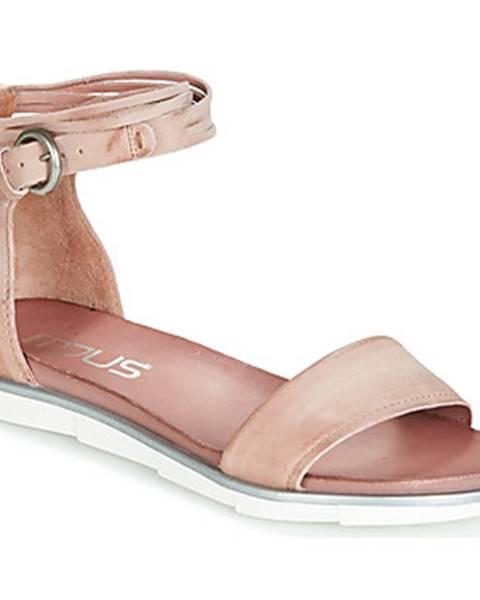 Ružové sandále Mjus