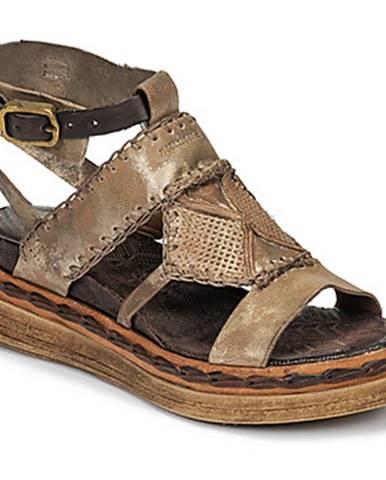 Zlaté sandále Airstep / A.S.98
