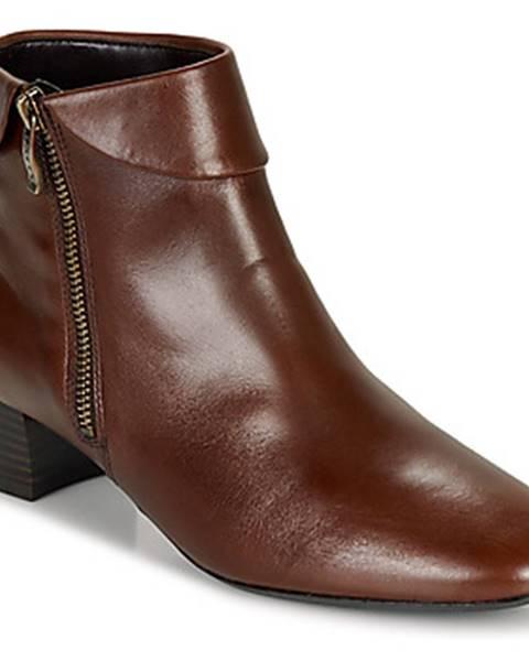 Bordové topánky Ara