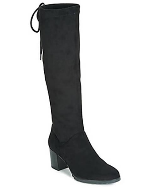 Čierne čižmy Caprice