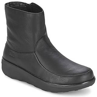 Čižmičky FitFlop  LOAFF SHORTY ZIP BOOT