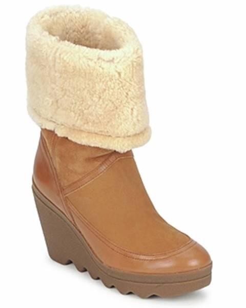 Hnedé topánky Ash