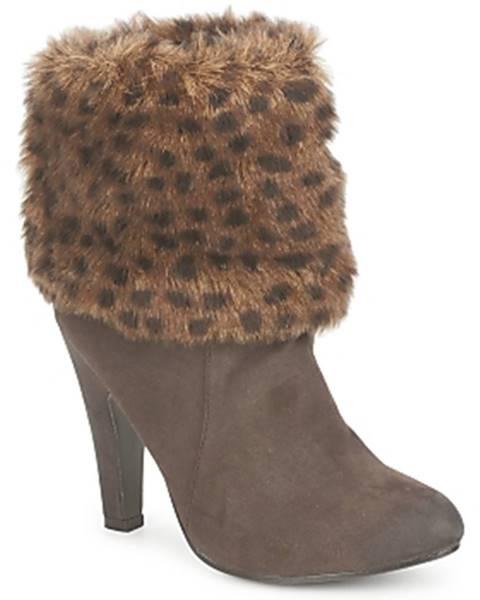 Hnedé topánky StylistClick