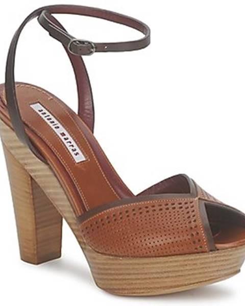 Hnedé sandále Antonio Marras