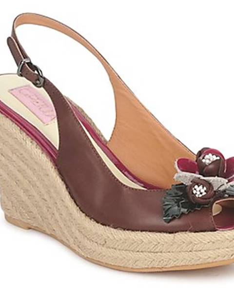Hnedé sandále C.Petula