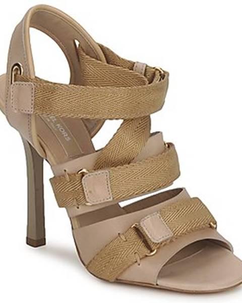 Béžové sandále Michael Kors