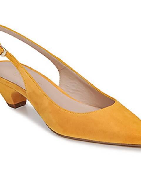 Žlté lodičky Fericelli