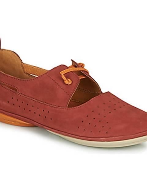 Červené topánky Camper