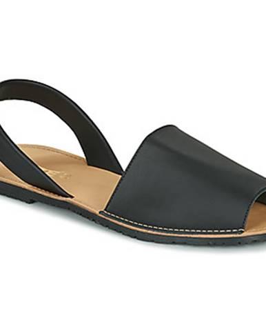 Čierne sandále So Size