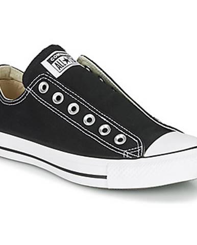 Čierne espadrilky Converse