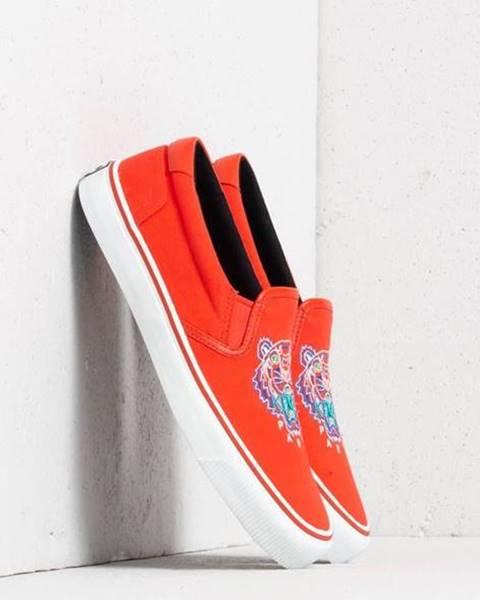 Oranžové tenisky Kenzo