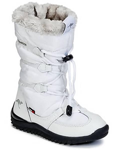 Biele topánky Kangaroos