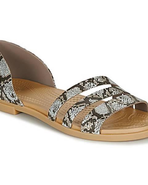 Béžové sandále Crocs