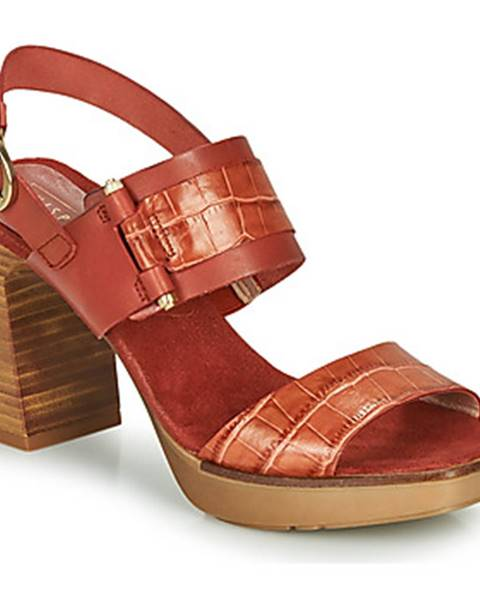 Hnedé sandále Hispanitas