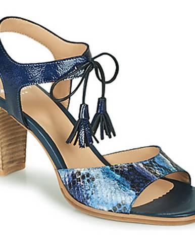 Modré sandále Perlato