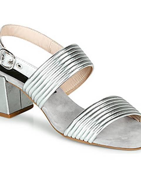 Strieborné sandále Fericelli