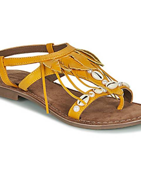 Žlté sandále Metamorf'Ose