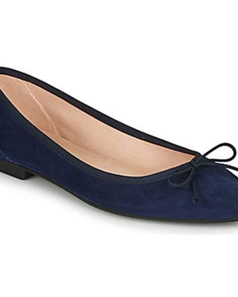 Modré balerínky Betty London