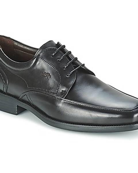 Čierne topánky Fluchos