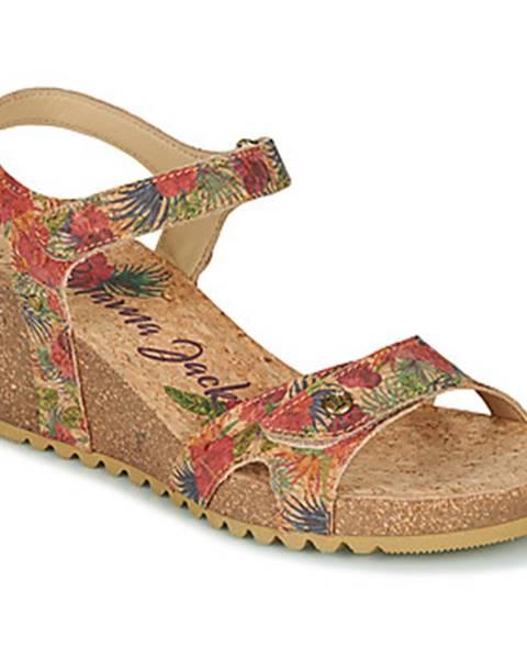 Béžové sandále Panama Jack