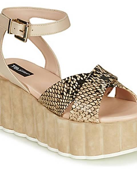 Béžové sandále Tosca Blu