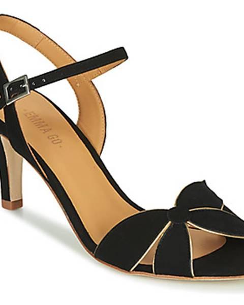 Čierne sandále Emma Go