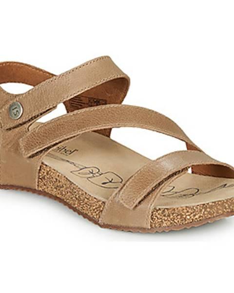 Hnedé sandále Josef Seibel