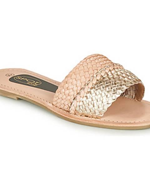 Ružové topánky Spot on
