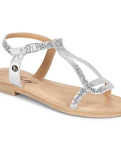 Strieborné sandále Betty London