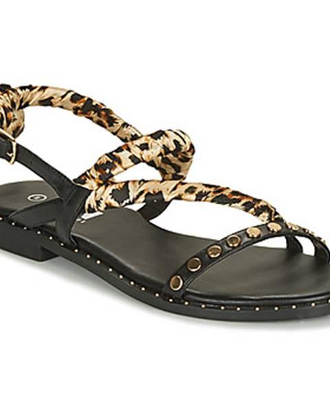 Čierne sandále Elue par nous