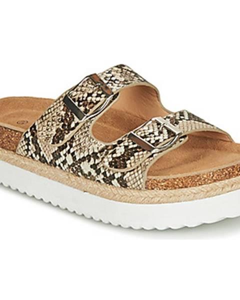 Béžové topánky Elue par nous