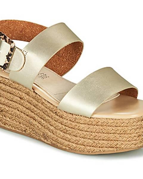 Zlaté sandále MTNG