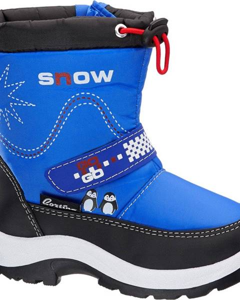 Modrá zimná obuv Cortina