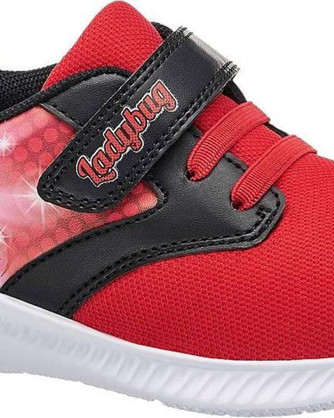 Červené tenisky Miraculous
