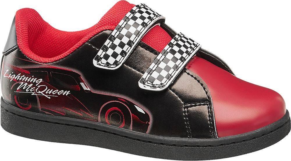 Cars - Čierno-červené tenis...
