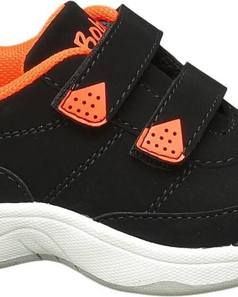 Čierne poltopánky Bobbi-Shoes