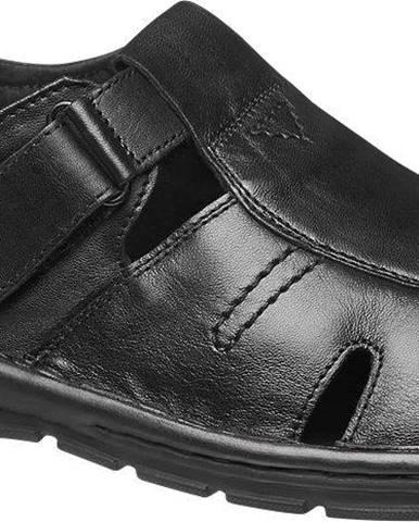 Čierne sandále Claudio Conti