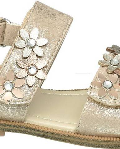 Zlaté sandále Cupcake Couture