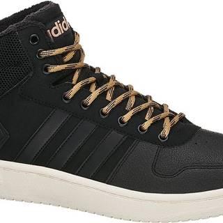adidas - Členkové tenisky Hoops 2.0 Mid Wtr