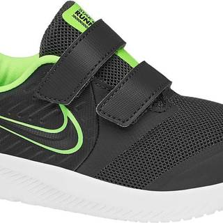 NIKE - Sivé tenisky na suchý zips Nike Star Runner 2