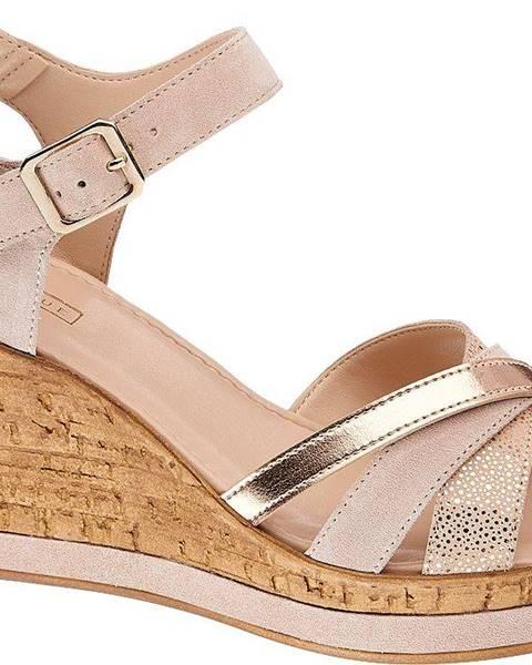 Ružové sandále 5th Avenue