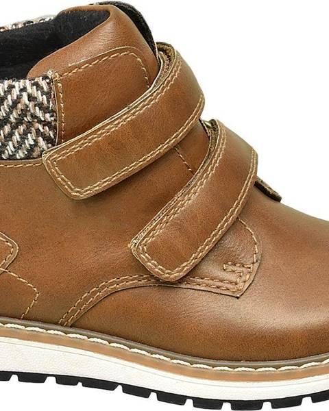 Hnedé topánky Bobbi-Shoes