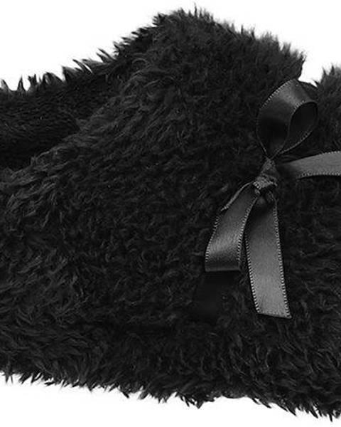 Čierne papuče Casa mia