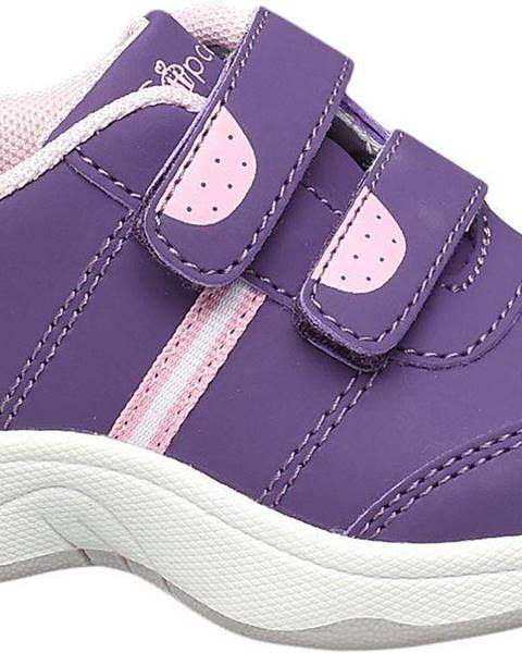Fialové topánky Cupcake Couture
