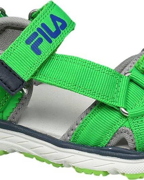 Zelené sandále Fila